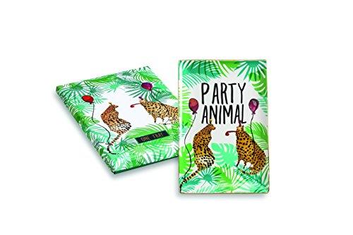 Rosanna 97637 Be Wild Party Animal Tray Small Multicolor