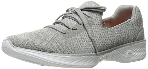 Skechers Performance Women's Go Walk 4 All Day Walking Shoe,Gray,8 M US