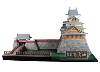 1/200 Castle Collection Suwa Takashima Castle by PMOA
