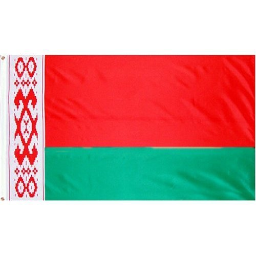 Belarus Flag - DANF Belarus Flag 3x5 Foot Polyester Belarusian National Flags Polyester with Brass Grommets 3 X 5 Ft