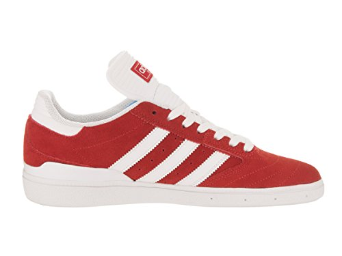 Footwear Suede Scarlet Mens Trainers White Adidas Busenitz w4zFqnS