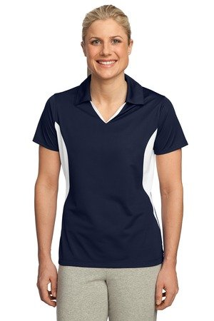 Sport-Tek Sport-Tek, Ladies Side Blocked Micropique Sport-Wick; Sport Shirt, .