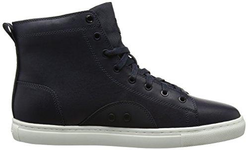 G-STAR RAW Zlov Mid, Sneaker a Collo Alto Uomo Blu (Dk Navy)