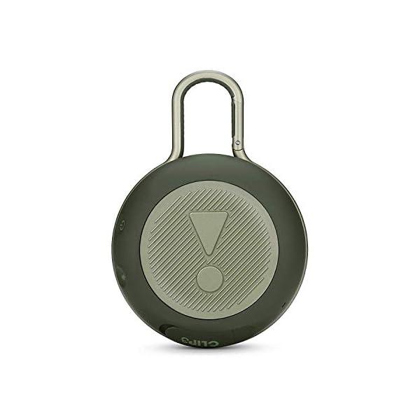 JBL Clip 3 - enceinte Bluetooth Portable avec Mousqueton - Étanchéité Ipx7 - Autonomie 10hrs - Qualité Audio JBL - Vert 7