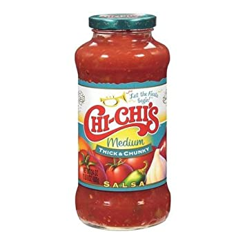 Hormel Foods Chi Chis Salsa, Thick & Chunky, Medium, ...