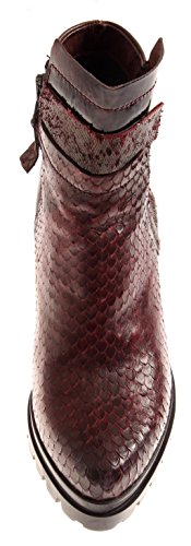 Donna Red Scarpe Drachenoptik Isabelle Stivaletti Stivaletti Boots Burgundy qxBaWgtw0