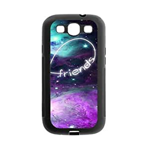Custom Best Friends Protective Gel Rubber Back Fits Cover Case for SamSung Galaxy S3