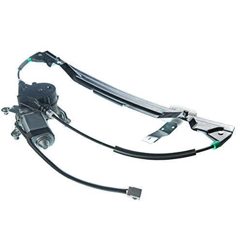 A-Premium Power Window Regulator and Motor Assembly for Ford Explorer Mercury Mountaineer 2002-2010 Lincoln Aviator Rear Left Driver Side -