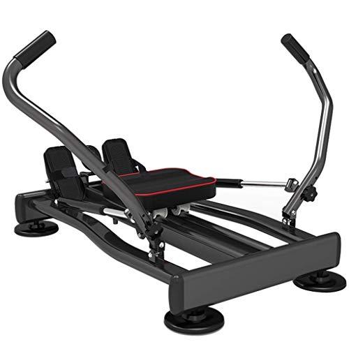 ZJZ Indoor Roeien Machine Roeienmachine Huishoudelijke Indoor Multifunctionele Roeimachine, Verstelbare Fitness Rowing…