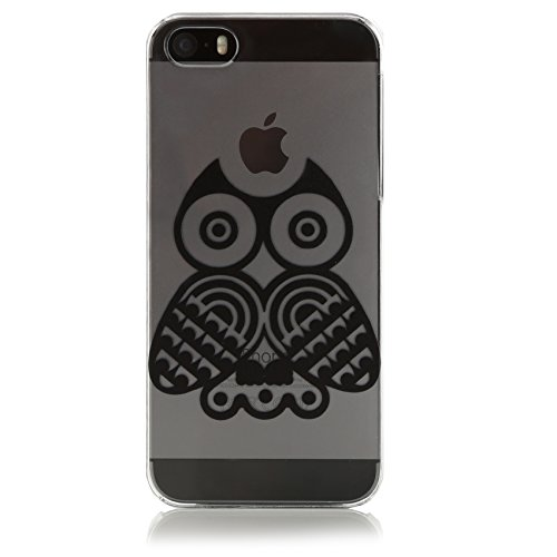Johnny Palermo 1127050 Owl Tattoo Hülle für Apple iPhone 5