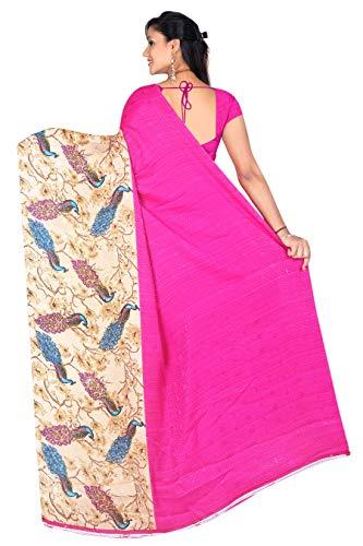 E Shop Online Women's Georgette Saree With Blouse Piece