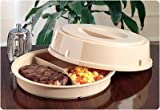 Three-Compartment Scoop Dish (Pack of 5 Scoop Dishes)
