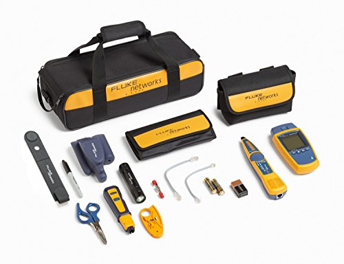 Fluke Networks MS2-TTK MicroScanner2 Network Cable Tester Kit with Punch Down Tool and Tone Generator and Probe by Fluke Networks (Image #5)