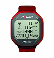 Polar RCX5 G5 Heart Rate Monitor (Red) from Polar