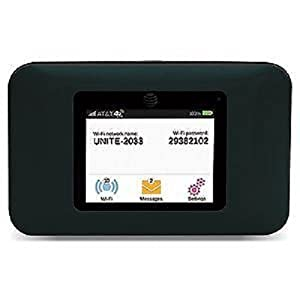 at t unite no contract 4g lte mobile wifi hotspot cell phones accessories. Black Bedroom Furniture Sets. Home Design Ideas