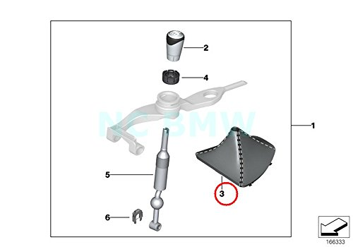 BMW Genuine Boot For Performance Shift - Performance Bmw Shift Knob