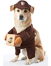 Brown_UPS PAL Dog Costume, Large