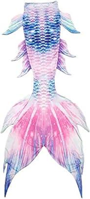 Kids Girls Boys Adult Women Mermaid Tail Luxurious Swimming Tail