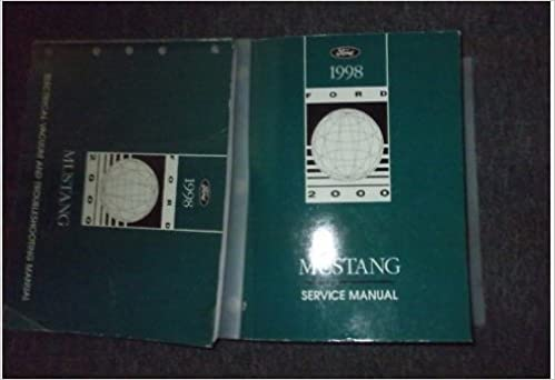 1998 ford mustang gt cobra service shop manual set oem (service manual, and  the electrical and vacuum wiring diagrams manual ): ford: amazon com: books