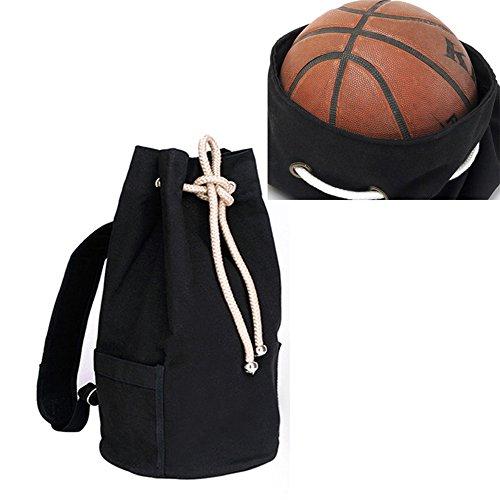 FHGJ Drawstring Cube Taschen Rucksäcke Für Teenager Männer Sport Outdoor Basketball Radfahren Aufbewahrungsbeutel Black