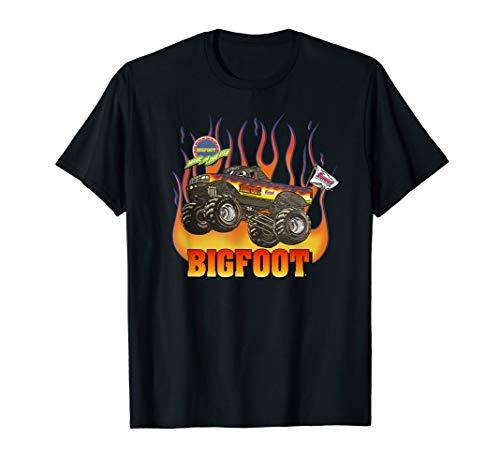 - 1994-1995 BIGFOOT Black Flame Design T-Shirt