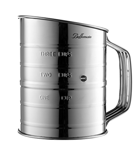 Bellemain Stainless Steel 3 Cup Flour Sifter by Epica (Image #7)