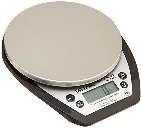 - Taylor Precision Products 1020NFS Aquatronic Digital Scale, 11 lb.