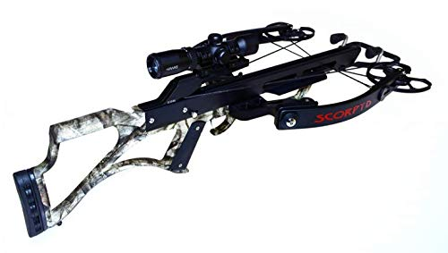 Scorpyd Aculeus 460FPS Crossbow Base Kit - Black Soft Touch (180 Crossbow Lb Hunting)