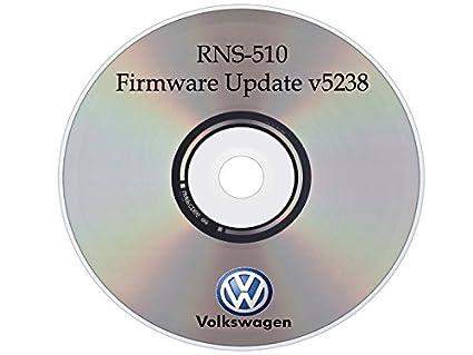 Amazon com: FIRMWARE Update v15 V5238 for Volkswagen VW Skoda RNS510
