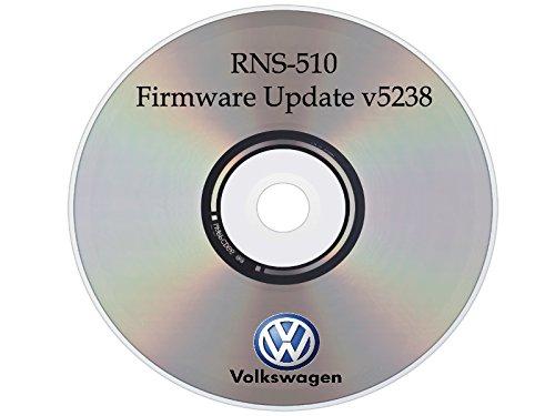 FIRMWARE Update v15 V5238 for Volkswagen VW Skoda RNS510 Navigation Radio