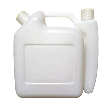 Botella para Mezclar 1.5L Blanco Almacenaje Combustible 2 ...
