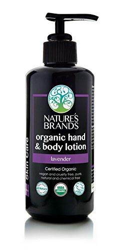 Herbal Choice Mari Organic Hand & Body Lotion, Lavender; 6.8floz