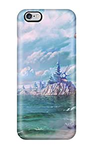 For Iphone 6 Plus Premium Tpu Case Cover Two Warriors Protective Case