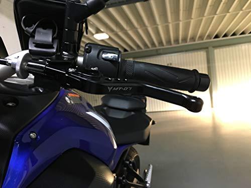 Manetas de Freno y Embrague Moto Palanca de Freno Moto Para MT07 MT-07 2013 2014 2015 2016 2017 2018 2019: Amazon.es: Coche y moto