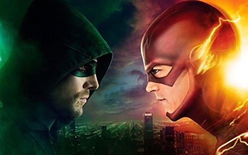 Arrow VS The Flash TV Series Poster (11 x 17)