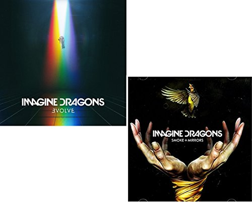 Evolve - Smoke + Mirrors - Imagine Dragons 2 CD Album Bundling