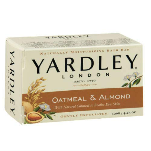 (Yardley Oatmeal and Almond Bar Soap, 4.25 Oz. 20 Bars )