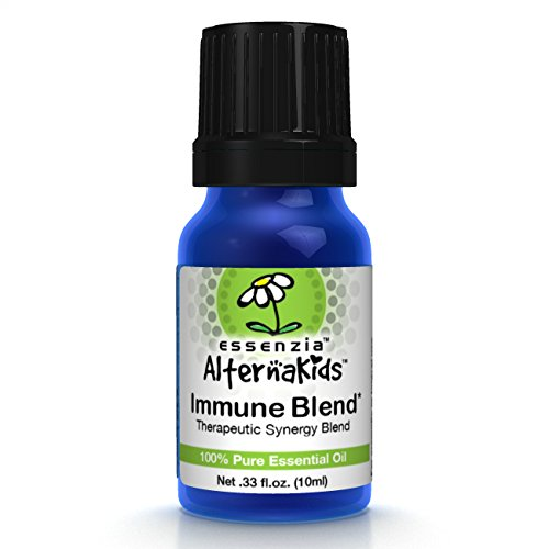 Immune Essential Oil for Kids by AlternaKids - 100% Pure, Therapeutic Grade, Undiluted Aromatherapy Blend for Children | Helps Fight Colds, Flu & Seasonal Allergy and Germs, Kid Safe (10ml bottle)