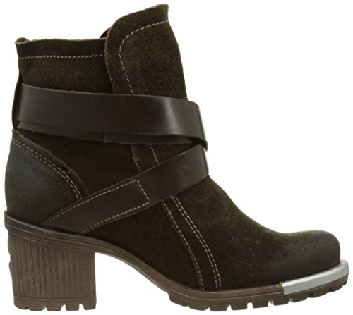 FLY London LOK - Botas estilo motero mujer Marrón (Sludge/dk.brown 007)