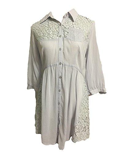 Free People Lavender Tunic Dress Size 6