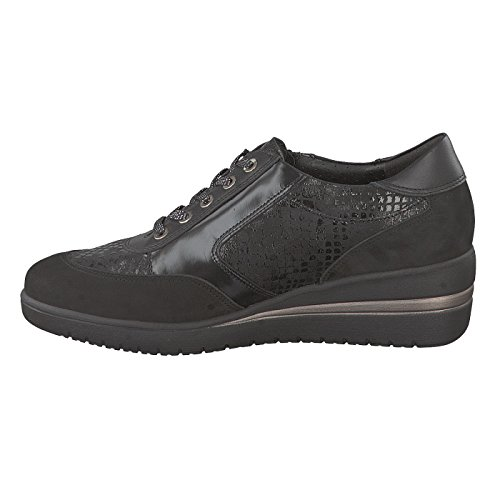 Mobils Womens Patrizia Black Nubuck Shoes 37 EU