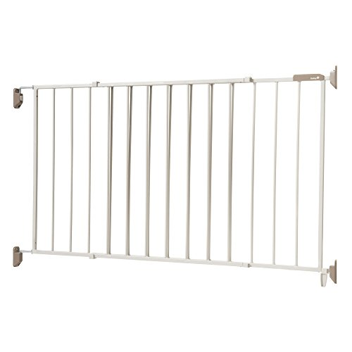 - Safety 1st Wide & Sturdy Sliding Metal Gate, Fits Spaces Between 40