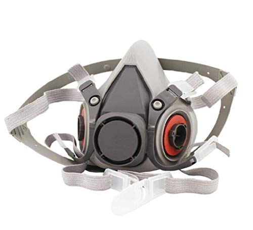 Dust mask 6200 protective mask half mask for paint/dust/particles/mechanical polishing/welding and other work protection