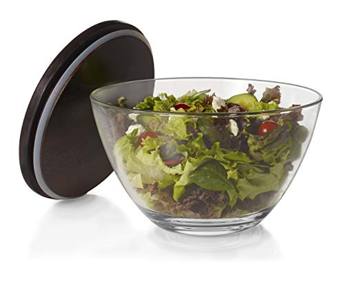 - Libbey Urban Story Glass Bowl with Lid, Extra-Large