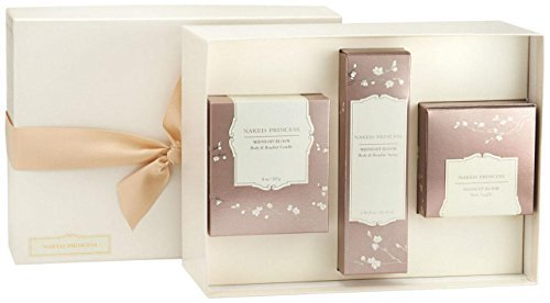 Naked Princess Boudoir Essentials Gift Set - Midnight Bloom - 3