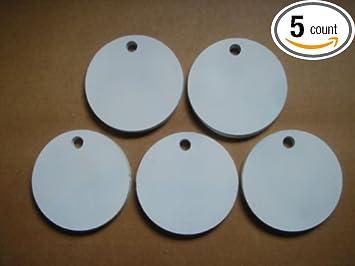Five 4 Inch Round Hangers 3/8