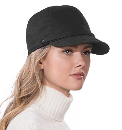 Eric Javits Luxury Fashion Designer Women's Headwear Hat - Mika - Black