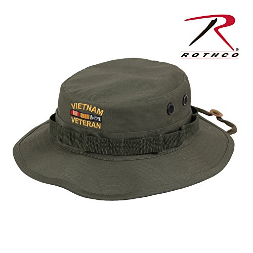 Rothco Vietnam Veteran Boonies Hat, Olive Drab, 7