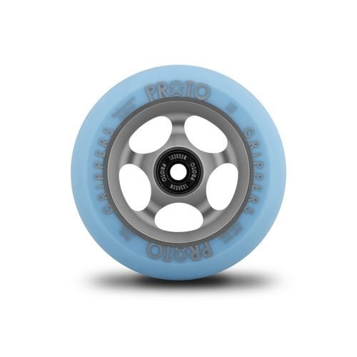 Proto Gripper Faded Wheels Pastel Blue/Ghost Grey - 110mm (Pair)