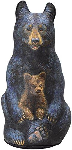 Black Bear Doorstop, Decorative Doorstopper, Animal Door Stop by Fiddler's Elbow